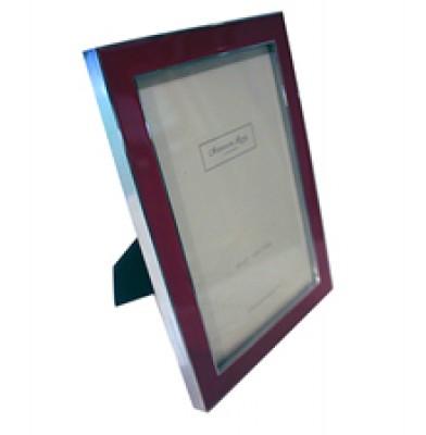 4x6 2cm Pink Enamel Frame