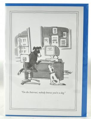 New Yorker Card - Internet Dog