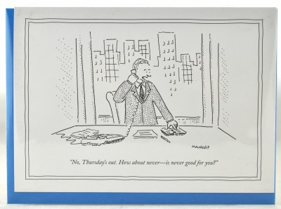 New Yorker Card - How about Never
