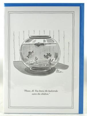 New Yorker Card - Backstroke