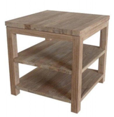 Anguila Recycle Teak Bedside Table