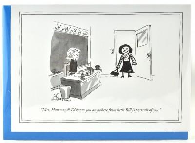 New Yorker - Billy's Portrait