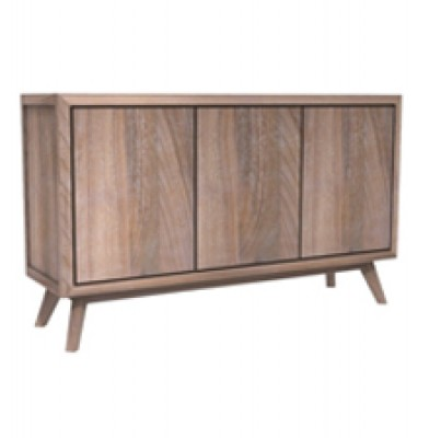 OSLO  Buffet 3 Doors Solid Teak Wood