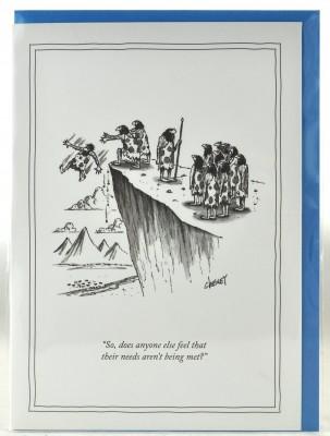 New Yorker Card - Needs aren't being met