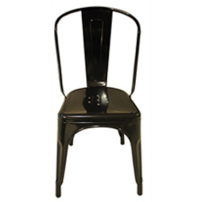 TM Metal Chair - Black