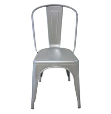 TM Metal Chair - Silver