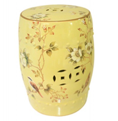 Ceramic Stool, Unique, Home Essentials, Chinese, Hong Kong, Value Bird Design stools