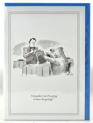New Yorker Card - I'll have the Garbage