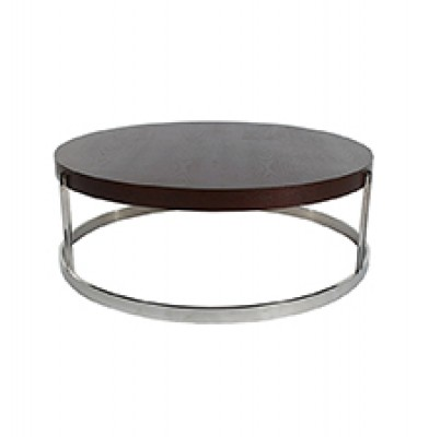 coffee table HK Hong Kong modern sleek wood top stainless steel base Hong Kong Home Essentials