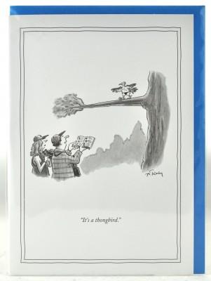 New Yorker Card - Thong Bird