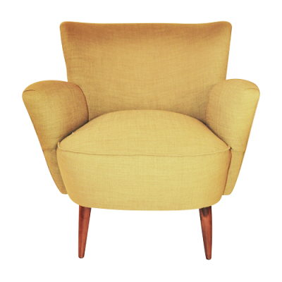 Retro Leisure Armchair - Green