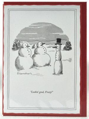 New Yorker Christmas Card - Looking Good