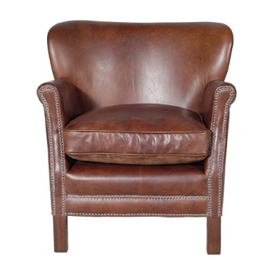 leather club chairs Hong Kong Home Essentials Central HK | vintage worn leather armchairs HK Deco Style Hong Kong Home Essentials