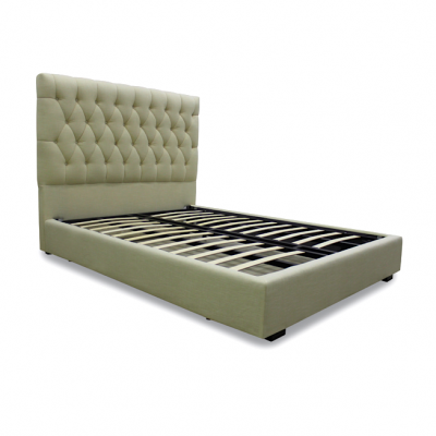 Tufted Headboard, Gas Lift Bed, Storage Bed, Bryant Park, Hong Kong, Home Essentials bed frame beds HK hydraulic beds
