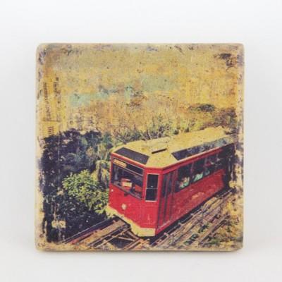 Sandstone Coaster HK Peak Tram