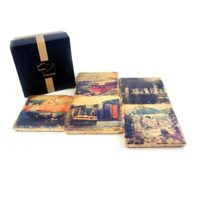 Sandstone Coaster Hong Kong Box Set