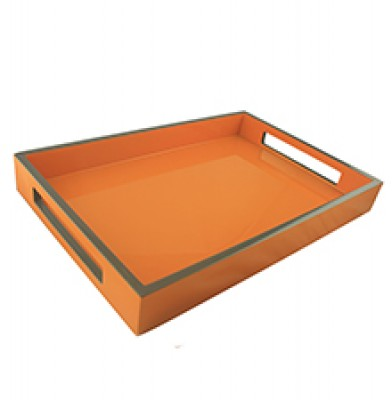 2 Tone Wooden Tray (Large)