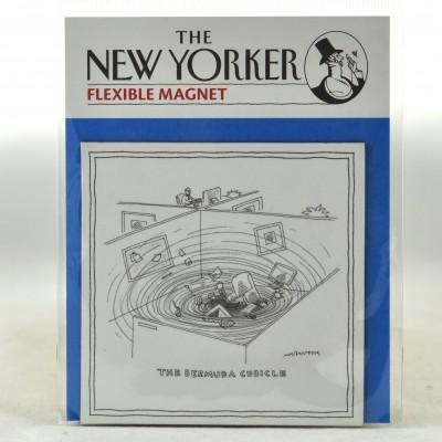 New Yorker Magnet - Bermuda Cubicle