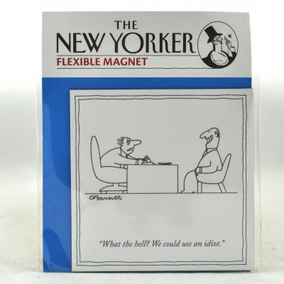 New Yorker Magnet - We could use an Idiot