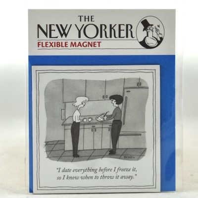 New Yorker Magnet - Freeze It