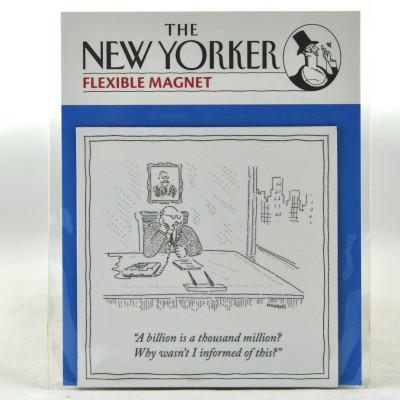 New Yorker Magnet - Why wasn't I informed?