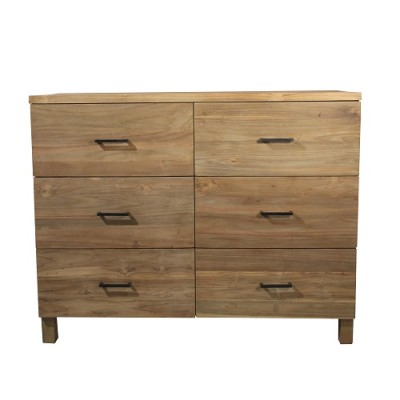 Anguila Dresser solid wood reclaimed teak Dresser Chest Hong Kong Home Essentials