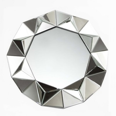 Round Prism mirror, decorative mirrors Hong Kong Home Essentials bedroom mirror living room mirror