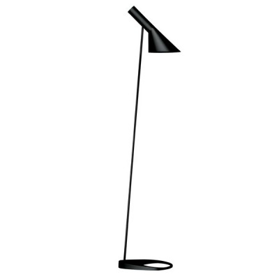aj floor lamp_black
