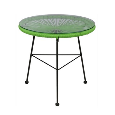 acapulco 45 green table | outdoor furniture patio balcony table in fun colors from Home Essentials Hong Kong HK