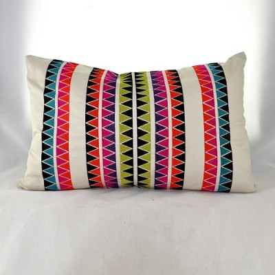 Rainbow Tribal Cushion