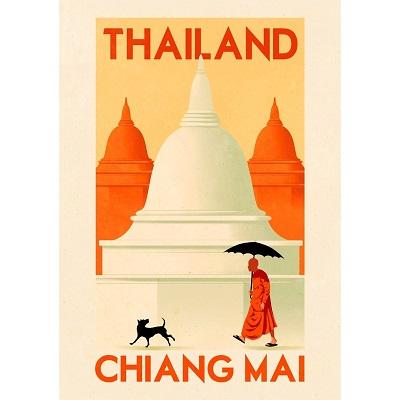 Chiang Mai Thailand Poster