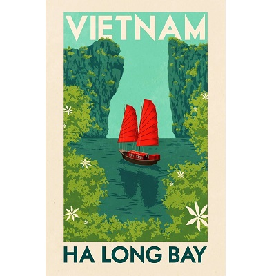 Vietnam Ha Long Bay Poster