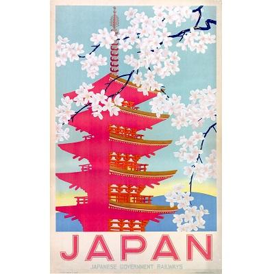 Japan Railway Poster