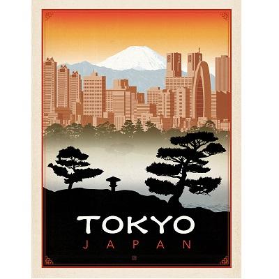Tokyo Japan Poster