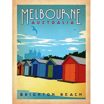 Melbourne Australia Poster