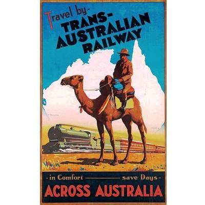 Across Australia Poster