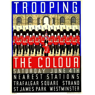 Trooping the Color Poster