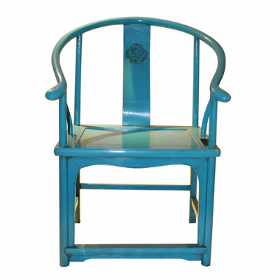 Blue Lacquer Hunting Chair