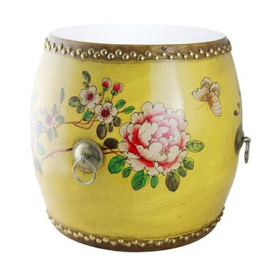 Drum - Yellow Floral