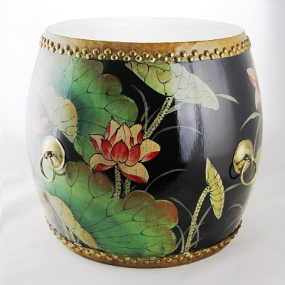 dragon boat drums Chinese drums Hong Kong Home Essentials | decorative drum seats Chinese Hong Kong Home Essentials | wood drums stools hand painted d