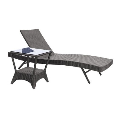 Outdoor sun lounger furniture in Hong Kong Home Essentials quality balcony furniture HK rental retail