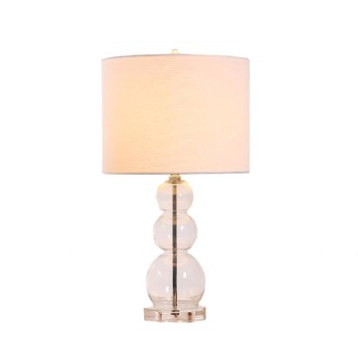Crystal ball lamp - clear