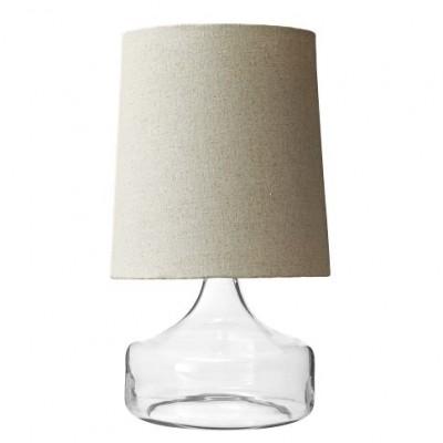 Petite Jar Lamp - Clear