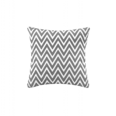 Chevron teal cushion