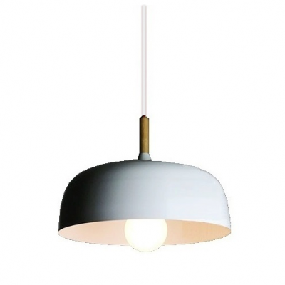White Metal Pendant Lamp