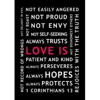 LOVE IS... Poster