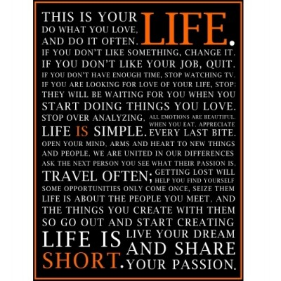 LIFE IS... Poster
