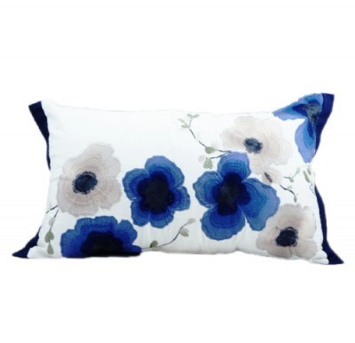 Mandarin Flowers Pillow Cushion bird fashion vintage Hong Kong Home essentials