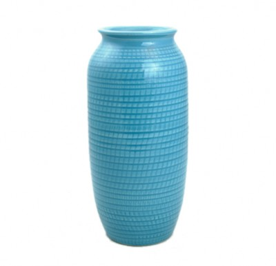 Vase Living home essentials Hong Kong ceramic wave blue white japanese stylish chinese vase