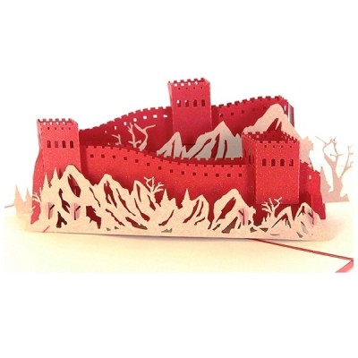 The Great Wall 3D Greeting Card